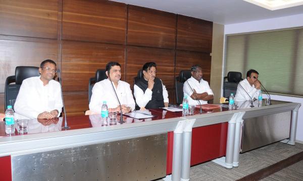 Hon. Chief Minister Prithviraj Chavan at Board Meeting Hall